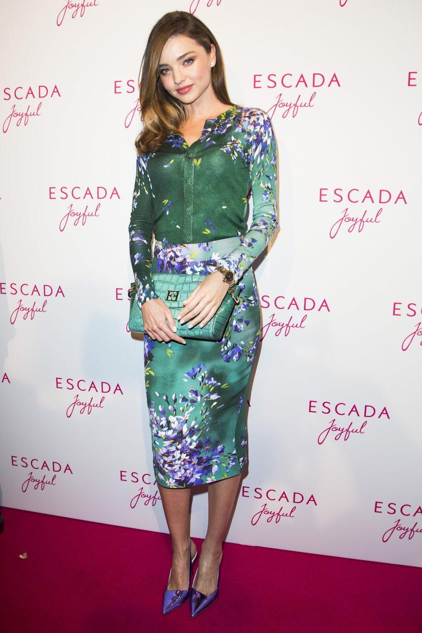 Miranda Kerr na imprezie Escada Joyful