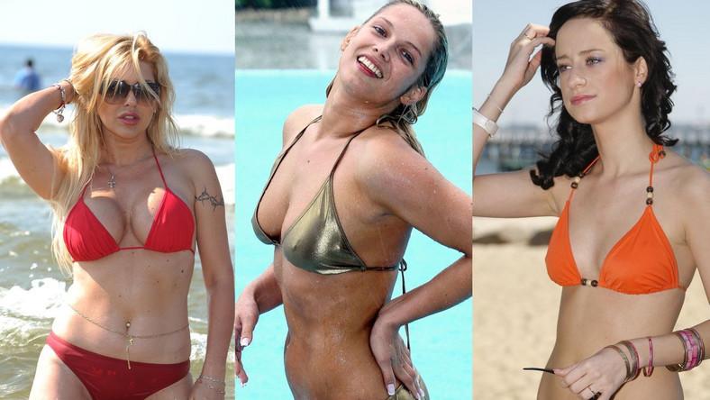 Polskie gwiazdy w bikini