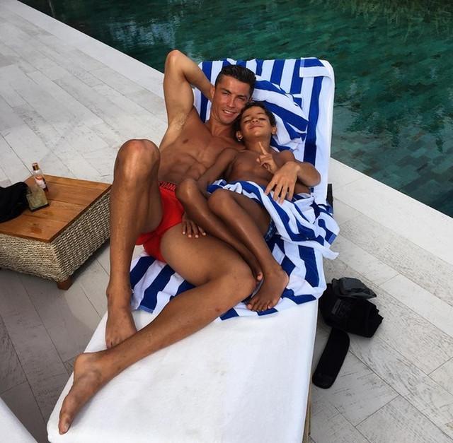 Kristijano Ronaldo sa sinom