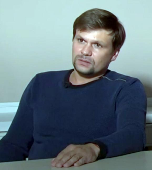 """Boširov I Petrov su se pojavili na ruskoj televiziji, po Putinovoj naredbi, kako bi potvrdili da je jedini razlog njihovog boravka u Britaniji razgledanje istorijskih spomenika """"prelepog Solsberija""""."""