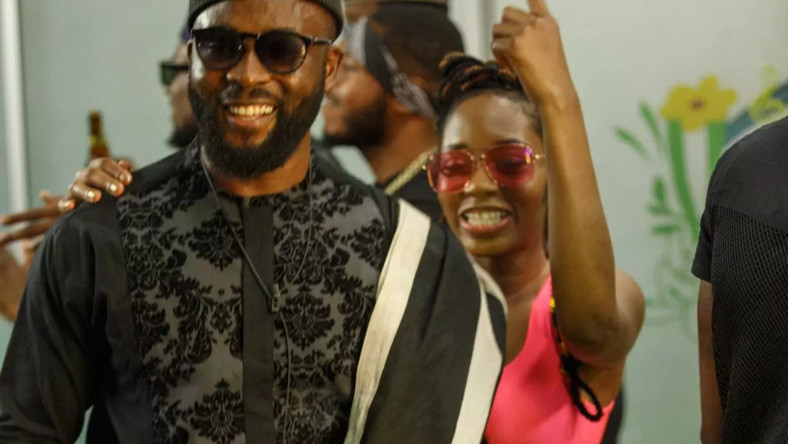 Gedoni and Khafi  are enjoying every bit of their affair. [Africa Magic/Big Brother Nigeria]