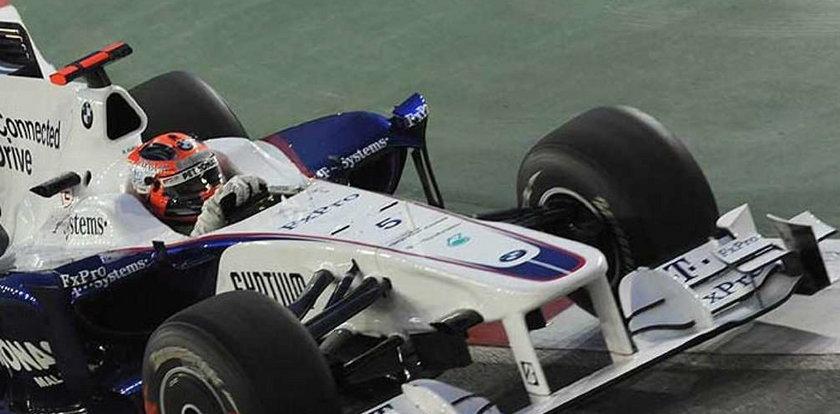Robert Kubica wyścisnął co mógł ze swojego bolidu
