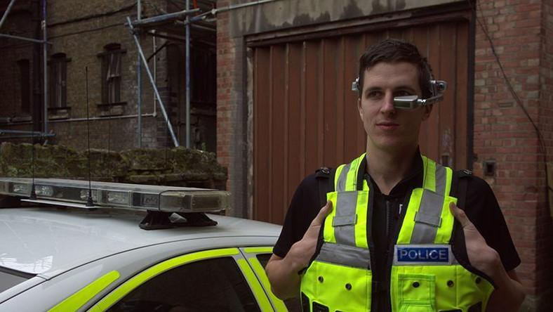 Specjalny monitorek dla policjantów