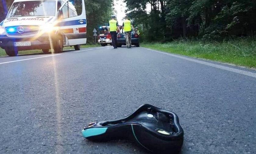13-letnia rowerzystka zmarła po potrąceniu przez samochód.