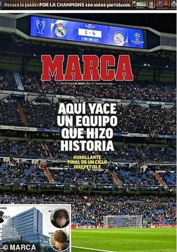 Naslovna strana španske