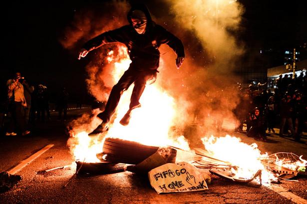 Protesty w Brazylii