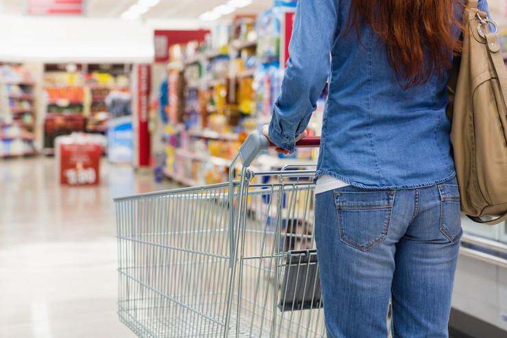 supermarket prodaja kupovina