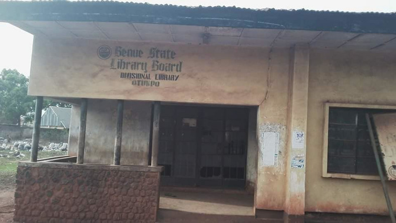 How dilapidated Otukpo Library was renovated [Andy Obeya]