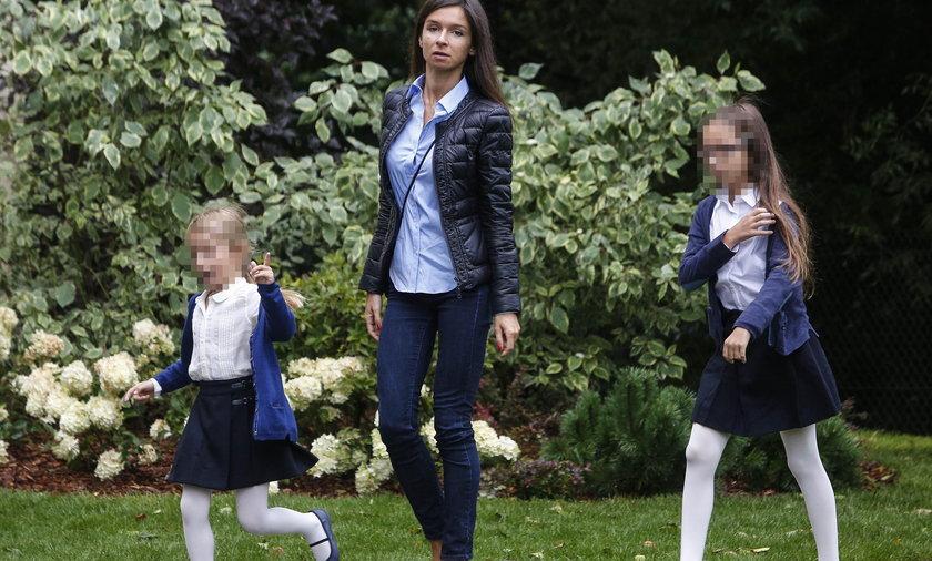 marta kaczyska z córkami