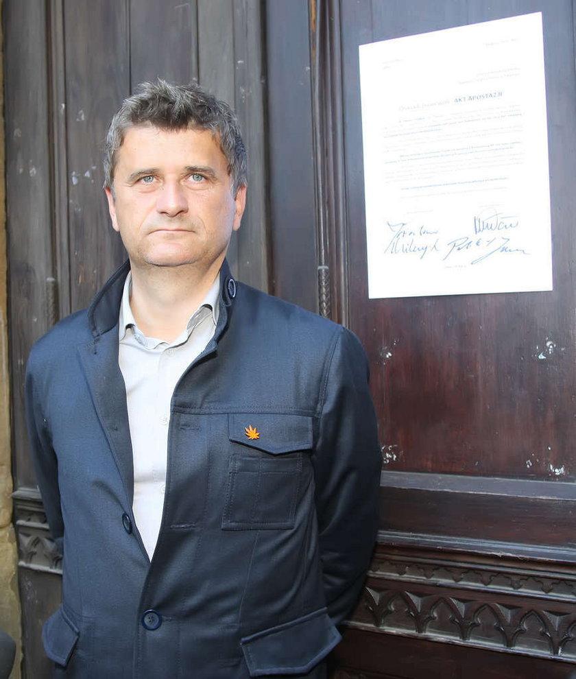 Janusz Palikot wypisuje się z kościoła