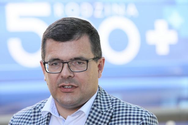 Piotr Uściński, sekretarz stanu w Ministerstwie Rozwoju i Technologii
