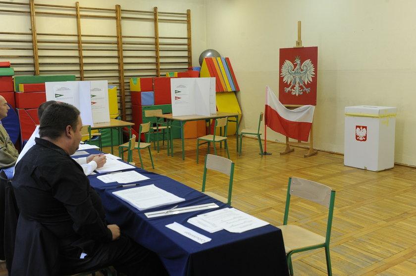 Lokal wyborczy podczas referendum 6 września 2015