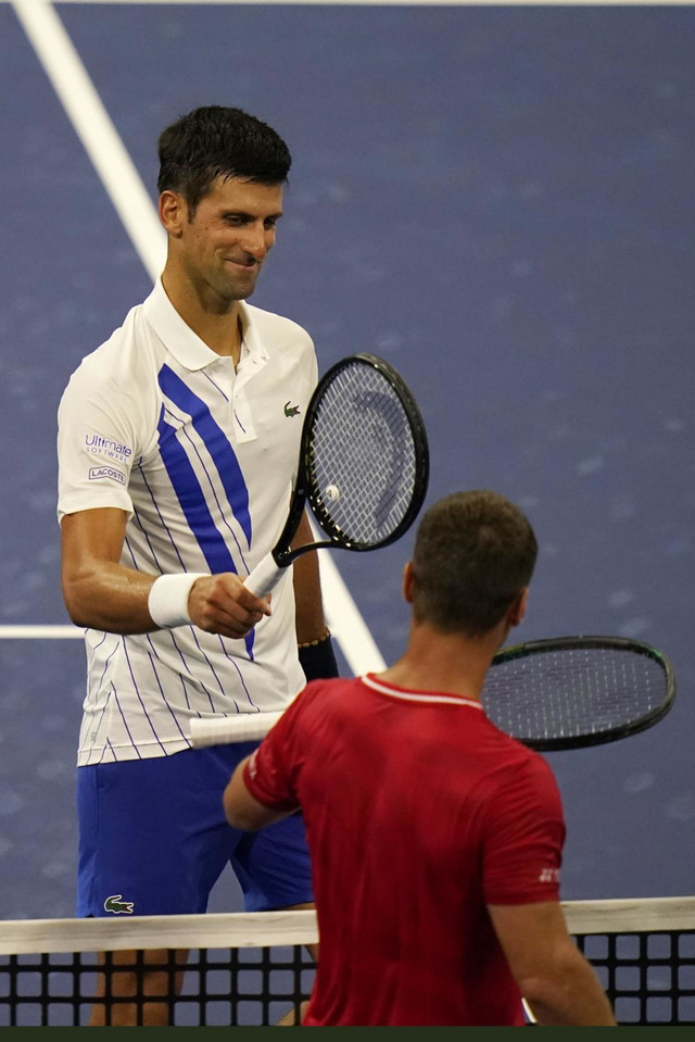 Novak Đoković i Rikardas Berankis