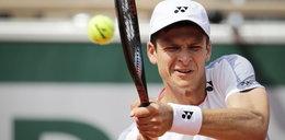 Hubert Hurkacz w drugiej rundzie Wimbledonu
