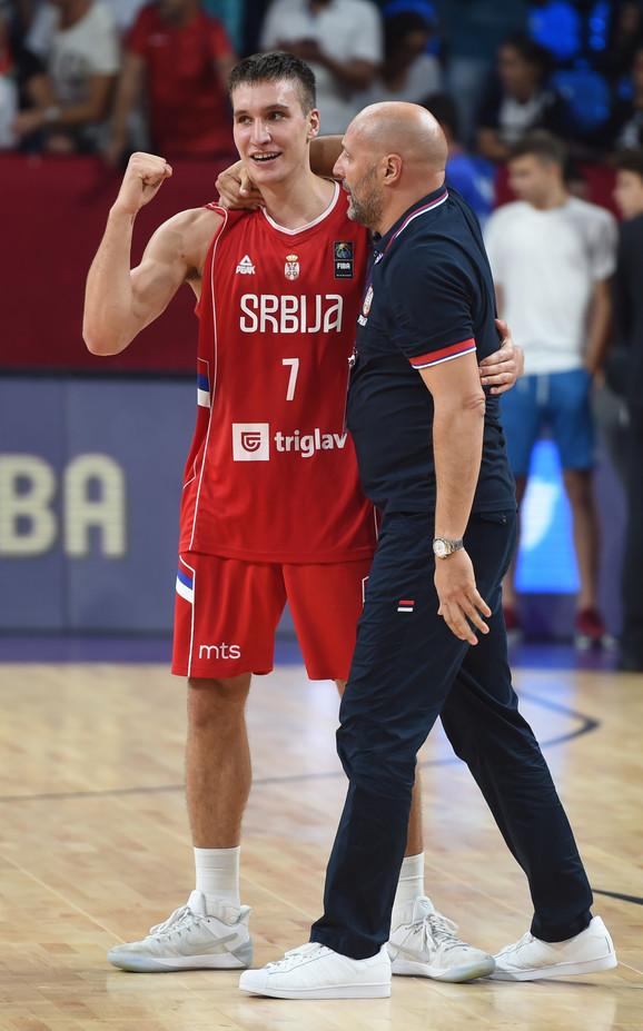 Učenik i učitelj: Bogdan Bogdanović i Sale Đorđević