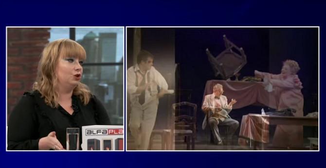 Bojana i scene iz predstave