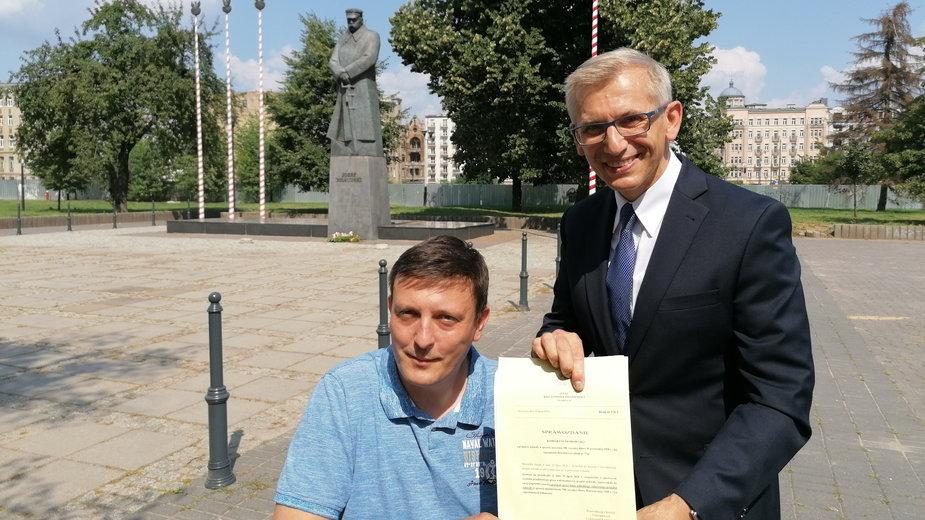 Krzysztof Kwiatkowski i Tomasz Adamkiewicz