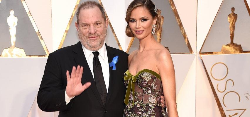Była żona Harveya Weinsteina znów zakochana. Pokazała się na ściance z hollywoodzkim gwiazdorem