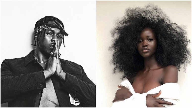 Adut Atech's lateest video on Instagram indicates that the two might be up to something [Instagram/Runtown] [Instagram/AdutAtech]