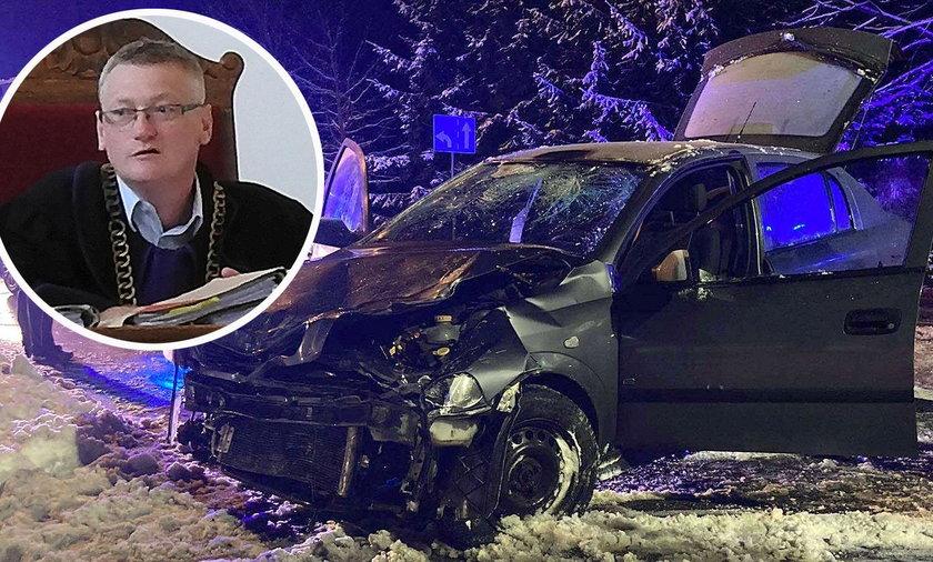 """Sędzia z Bartoszyc jechał po alkoholu. """"Postrach przemytników wpadł pod tira"""""""