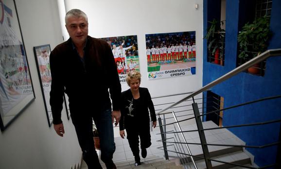 Predrag Danilović i Marina Maljković