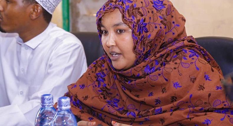 Wajir Woman Rep Fatuma Gedi badly beaten up Wajir East MP Rashid Kassim at Parliament buildings