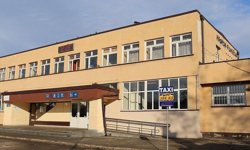 Remont dworca Kraków Płaszów