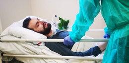 Jego życie runęło w ciągu minuty! Mateusz przeszedł rozległy udar i jest uwięziony w swoim ciele