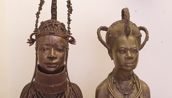Two Benin Bronzes left Nigeria nearly 40 years ago [Lambeth Palace]