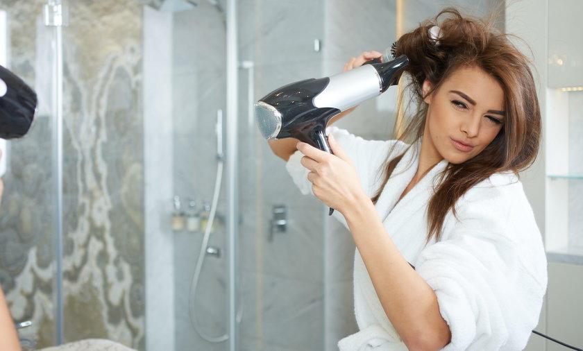 układanie włosów