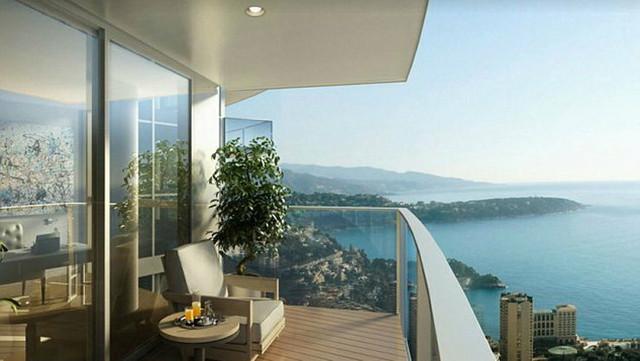 Sa terase se pruža predivan pogled na Mediteran