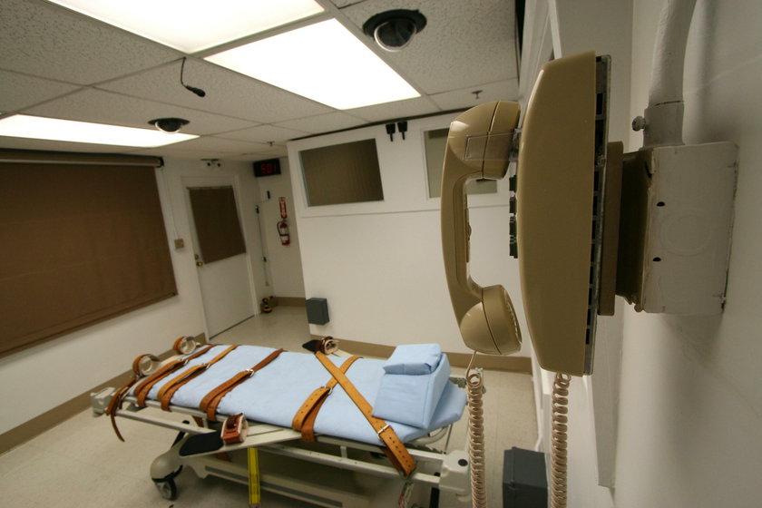 Cela śmierci w więzieniu na Florydzie