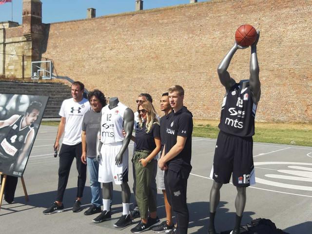 Partizan predstavio novi dres