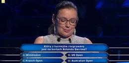 """""""Milionerzy"""" padło pytanie o wiatyk i korty Rolanda Garrosa – gdzie się znajdują? Uczestniczka nie miała pojęcia!"""