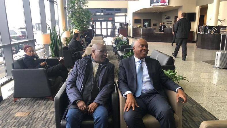 Image result for Atiku's Visit To The Us