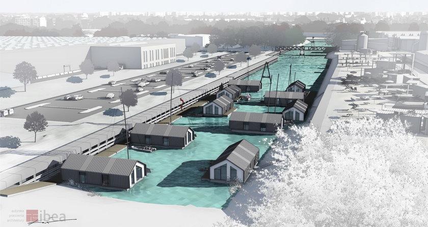 Takie domy powstaną na Kanale Żerańskim