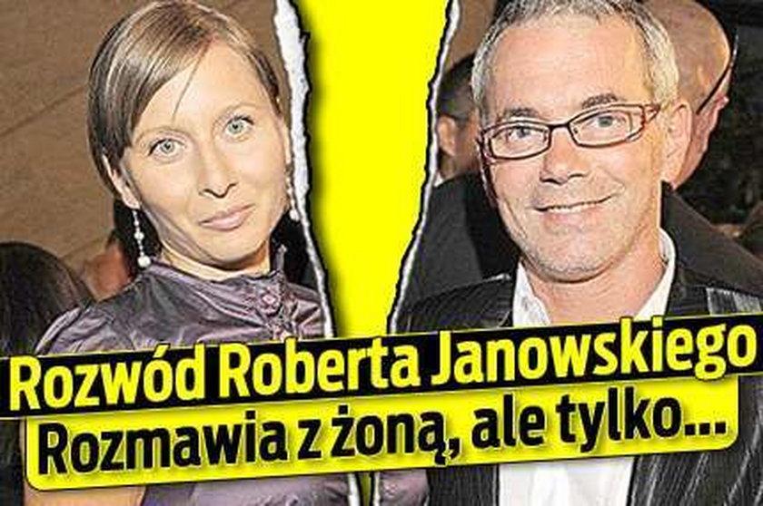 Rozwód Janowskiego.Rozmawia z żoną, ale tylko...