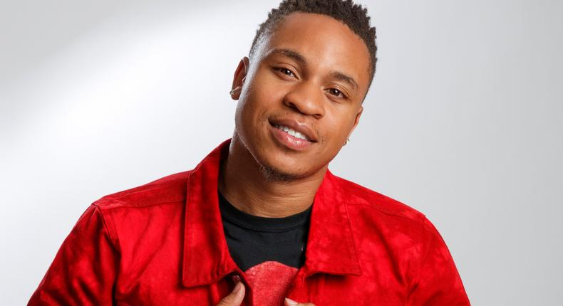 Nigerian-American actor and singer Rotimi Akinosho is joining the 'Coming 2 America' (nypost/Brian Zak)