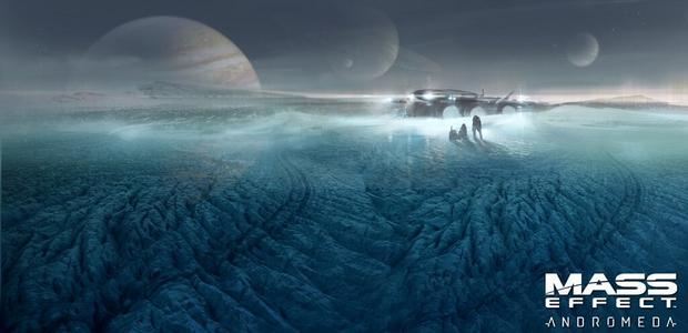 Mass Effect: Andromeda - szkic koncepcyjny