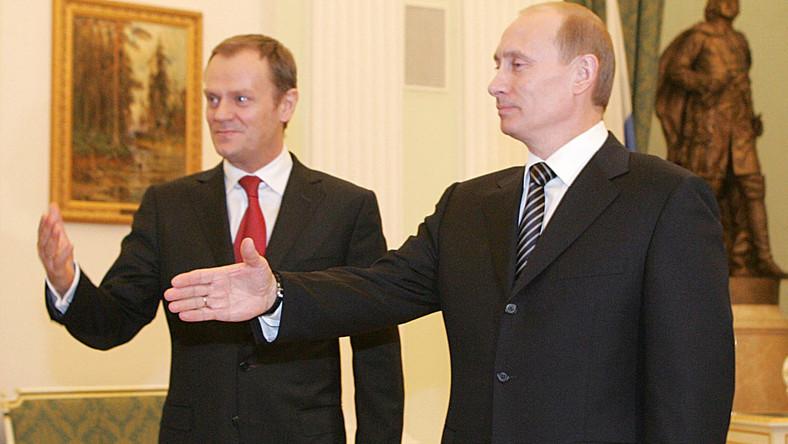 O czym polski premier rozmawiał z prezydentem Rosji?