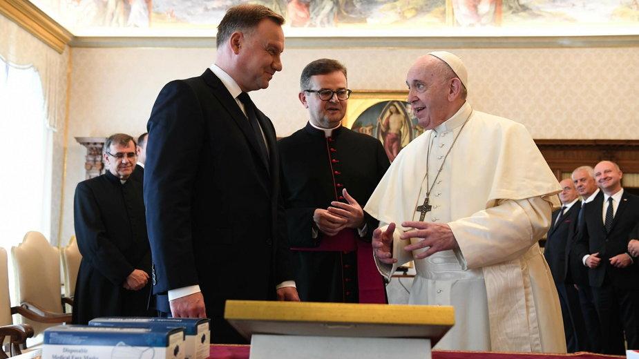 Andrzej Duda z wizytą w Watykanie