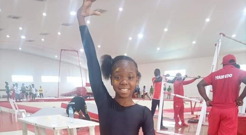 NSF: 10-year-old gold medalist appeals for support to realise Olympic dream