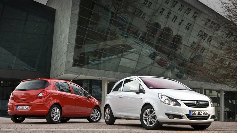Opel Corsa: Wewnętrzna odnowa (lifting)