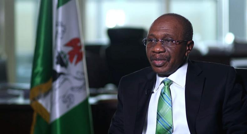 CBN chief Godwin Emefiele (Sun Newspaper Nigeria)