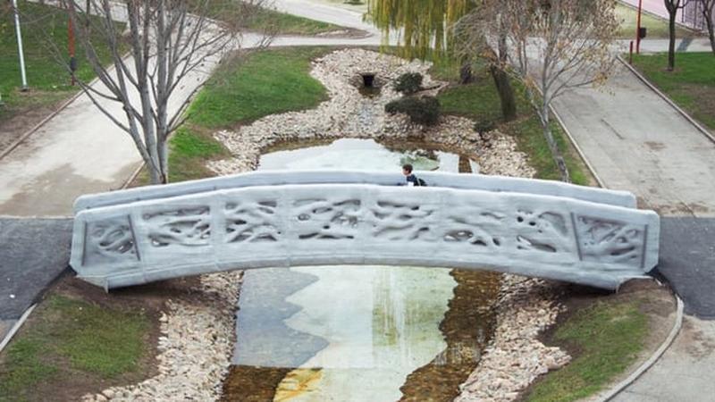 Pierwszy drukowany most powstał w Madrycie
