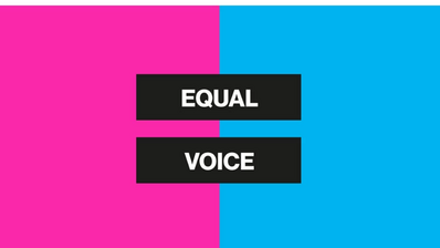 #EqualVoice and visibility of women in media