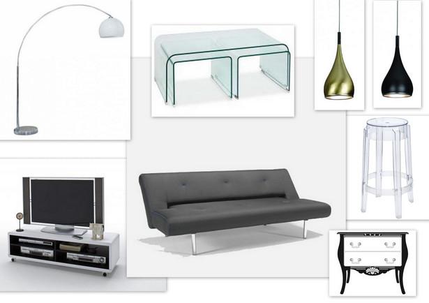 Za kwotę pięciu tysięcy złotych w ciekawy i funkcjonalny sposób możemy urządzić tylko salon w mniejszych np. dwu-pokojowych mieszkaniach