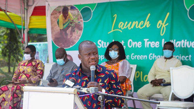 NPP government introduces 'One-Student, One-Tree' initiative