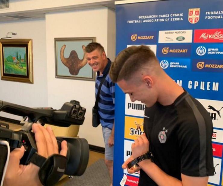 Filip Stevanović i Savo Milošević