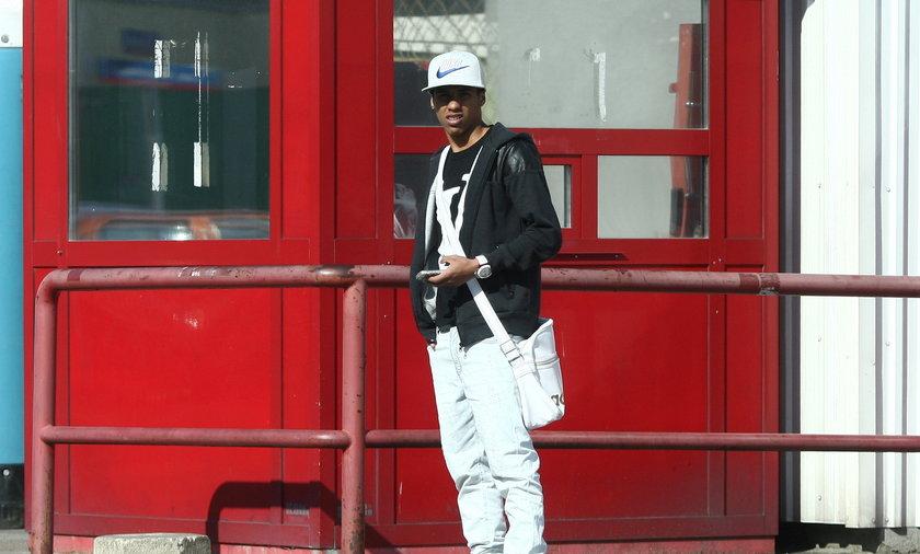 Alex Bruno z tramwaju przesiadł się do taksówki